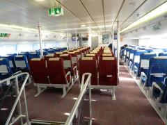 Flying Cat 5 Upper Deck Lounge
