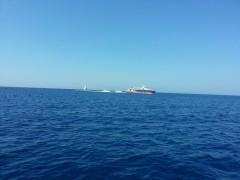 Dodekanisos Express Off Tilos, 8 8 2013