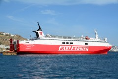 Fast Ferries Andros, 29 April 2016, in Mykonos 2