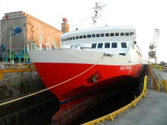 Fast Ferries Andros Bow