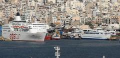 Ships in Perama.