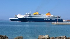 Blue star Patmos & Blue star Paros