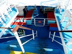 Proteus Sun Deck Stairs