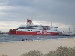 Spirit of Tasmania II breaks her moorings
