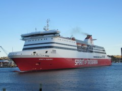 Spirit of Tasmania II in Devonport