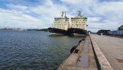 Sisho & Urho at Helsinki Port
