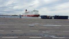 Mariella at Helsinki port