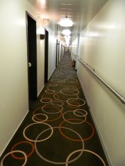 Kydon Cabins Corridor in Deck 7