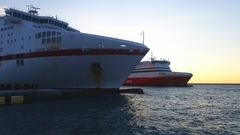 Cruise Europa &Superfast xi bow