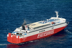 Fast Ferries Andros, 03 May 2016 in Mykonos 2
