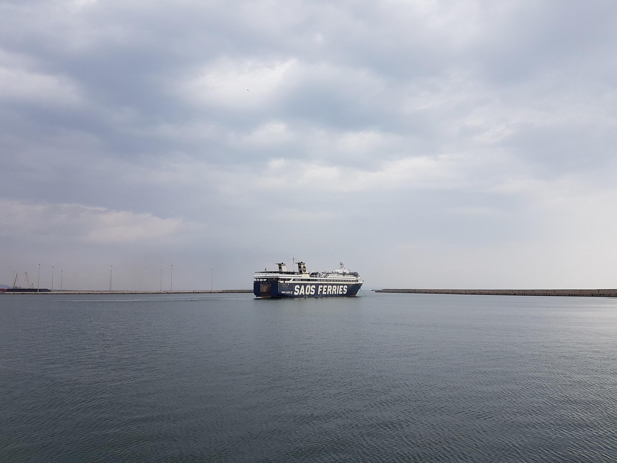SaosII sailing from Alexandroupolis 2017 03 15