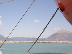even more ionian queen port anchor chain (fifth shackle) @patras