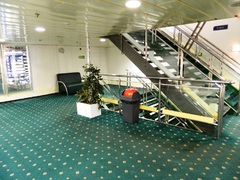 Galaxy Aft Staircase in Deck 7