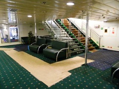 Galaxy Aft Staircase in Deck 6