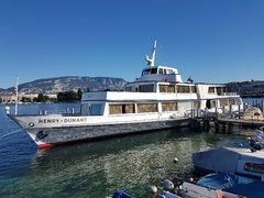 """CGN's """"Henry Dynant"""" berthed in Geneva (Mont Blanc) 20170704_180352.jpg"""