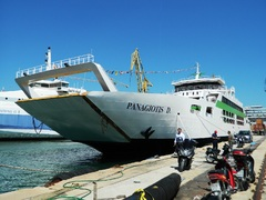 Panagiotis D Launching Ceremony