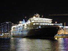 SUPERFERRY at Piraeus Port