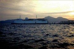 Georgios Express at Milos port 1999