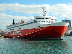 Fast Ferries Andros operated by Blue Star Ferries