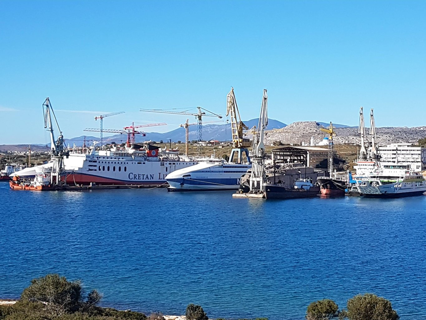 Spanopoulos shipyard