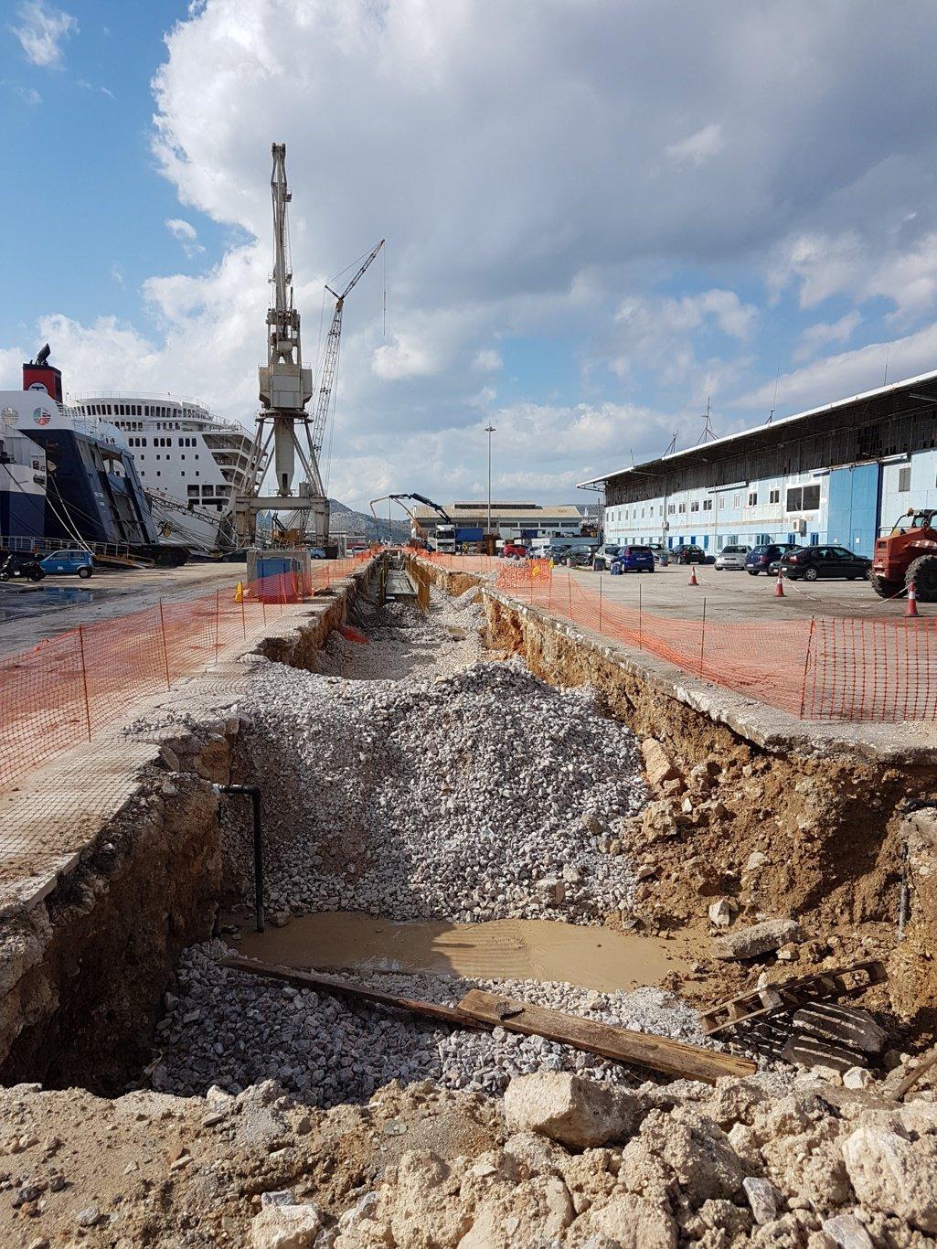Perama shipyards