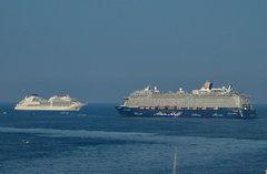 Seabourn Encore & Mein Schiff 6