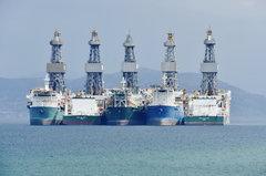 Ocean Rig Athena_Ocean Rig Paros_Ocean Rig Olympia_Ocean Rig Apollo_Ocean Rig Mylos_08-09-18_Eleusis roads_2