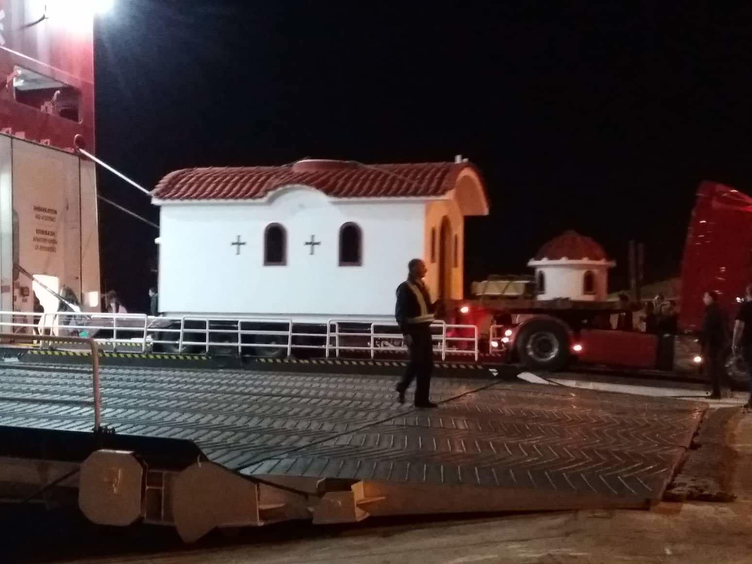 Little Church on board Mykonos Palace
