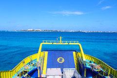 Ultracarga III and Caribbean Sea Garage Deck