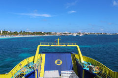 Ultracarga III Arriving to Isla Mujeres Garage Deck