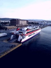 Santorini Palace @Piraeus port 04/11/18