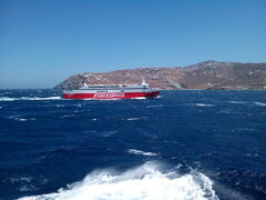 Fast Ferries Andros @ Mykonos