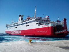 Ekaterini P @ Tinos Port