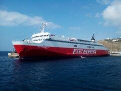 Fast Ferries Andros @ Mykonos