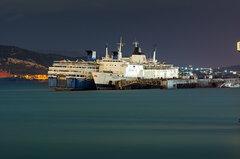 "Elefsis - Sunk drydock Kriti || Ελευσίνα - Ντάνα της δεξαμενής ""Κρήτη"""