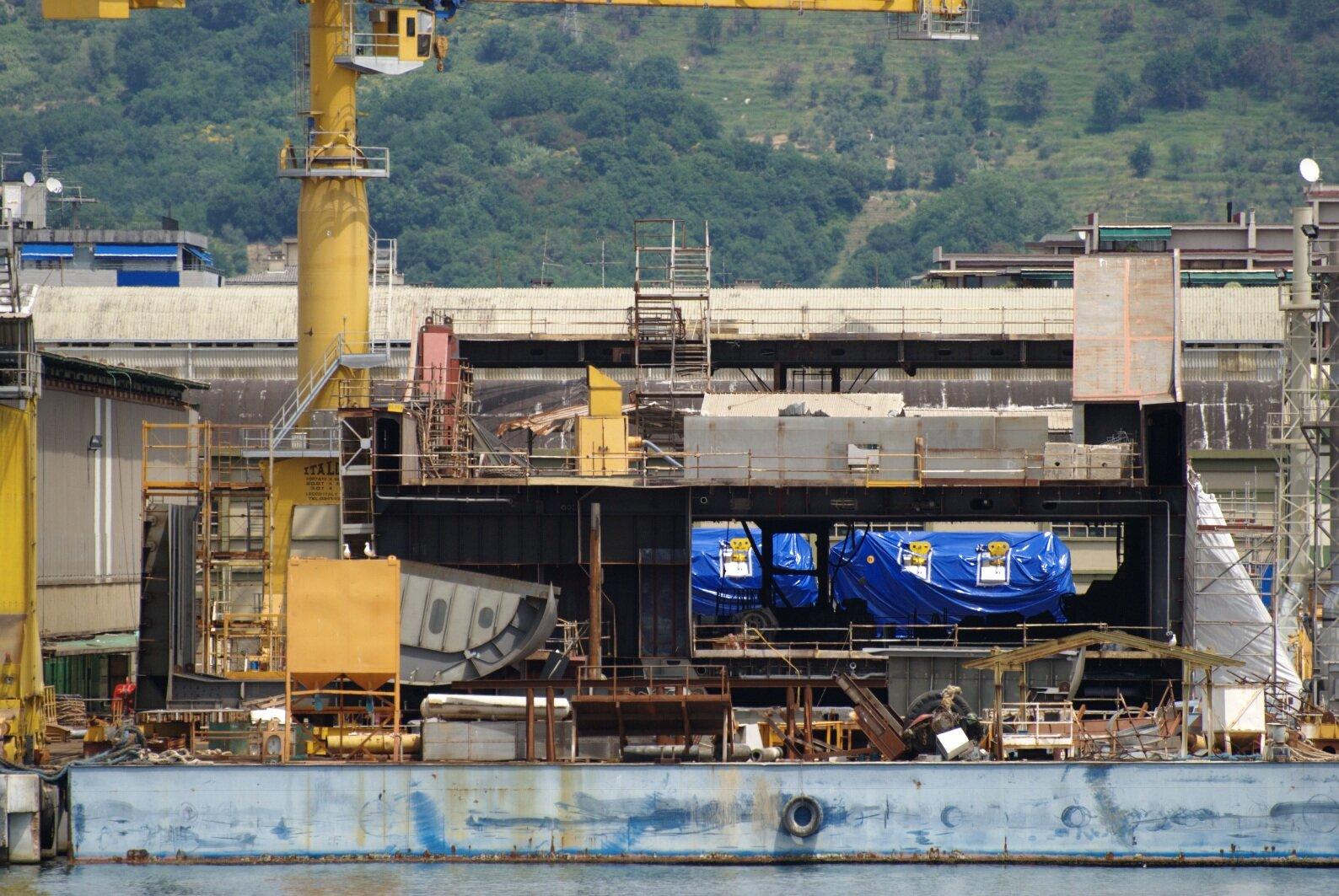 Energia - newbuilding of Grimaldi Holding