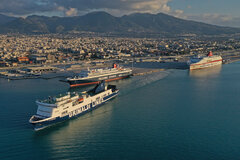 Patras new port