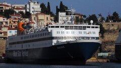 DIAGORAS anchored at Kavala Port