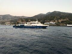 Panagia Spiliani approaching Nisyros 02082019