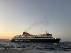 Nissos Chios approaching Nisyros 02082019