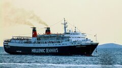 EXPRESS PEGASUS arrival at Kavala Port