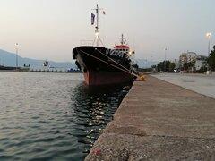 Aegean iii  at patras old port