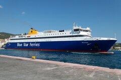 Blue Star Naxos at Skiathos port