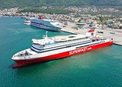 Superfast XI vs Cruise Olympia