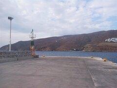 Aegiali Port