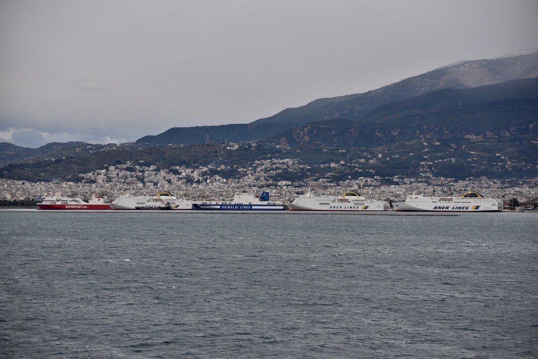 Patras new port