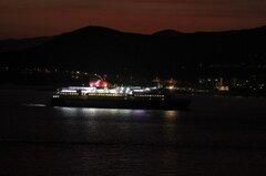 NISSOS CHIOS arrival at Kavala Port