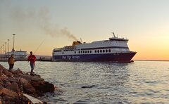 Blue Star 1 - Cruise Olympia - Patras