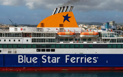 Blue Star Ferries Insignia