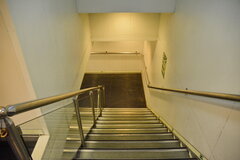Scandola_stairs
